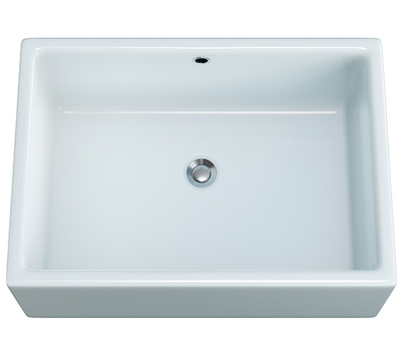 Aqva Pamela NTH Counter Top Basin 520mm - BBD Pamela
