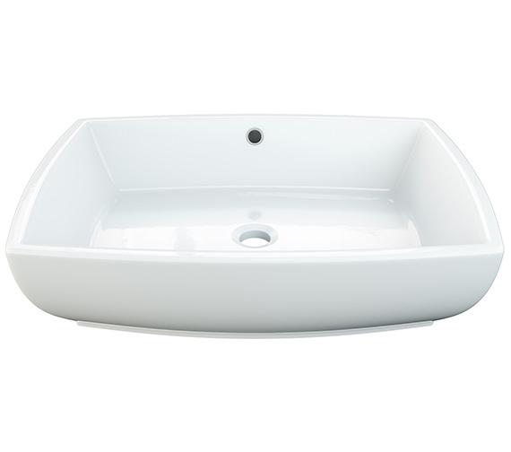 Aqva Patricia Counter Top Wash Basin 540mm - BBD Patricia