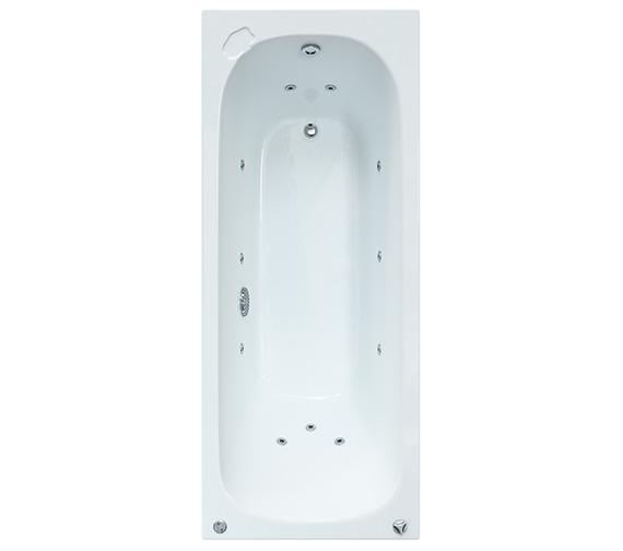 Aqva Florentine 1700 x 700mm 11 Jet Whirlpool bath