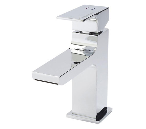 Hudson Reed Art Waterfall Mono Basin Mixer Tap With Waste