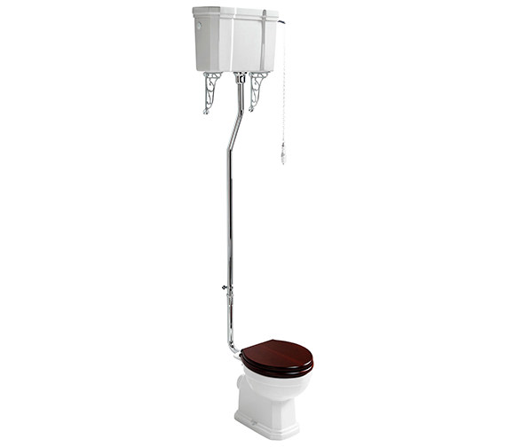 Ideal Standard Waverly High Level WC Pan 645mm And Cistern Pack