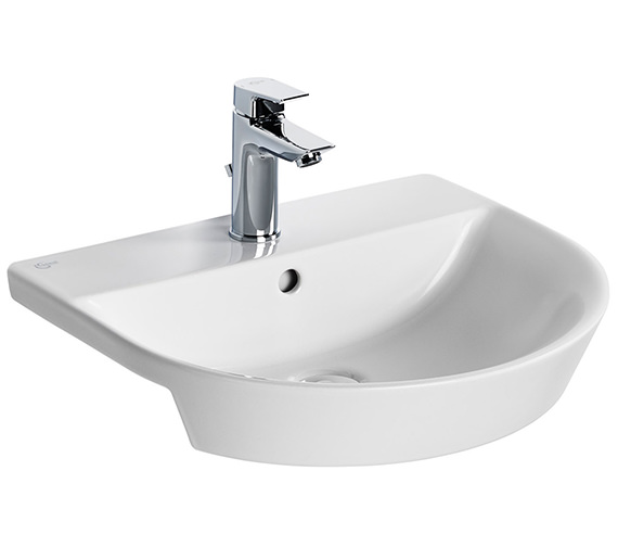 Ideal Standard Concept Air Arc 500 x 450mm Semi-Countertop Washbasin