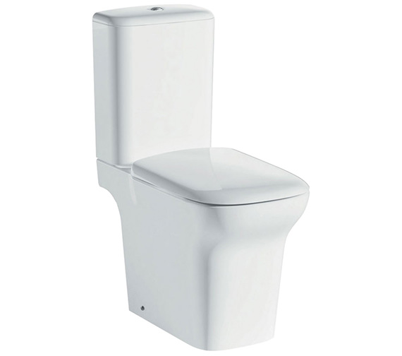 IMEX Grace Rimless Comfort Height Close Coupled Open Back WC Set 650mm