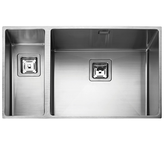 Rangemaster Atlantic Kube 740 x 430mm Stainless Steel 1.5B Undermount Sink