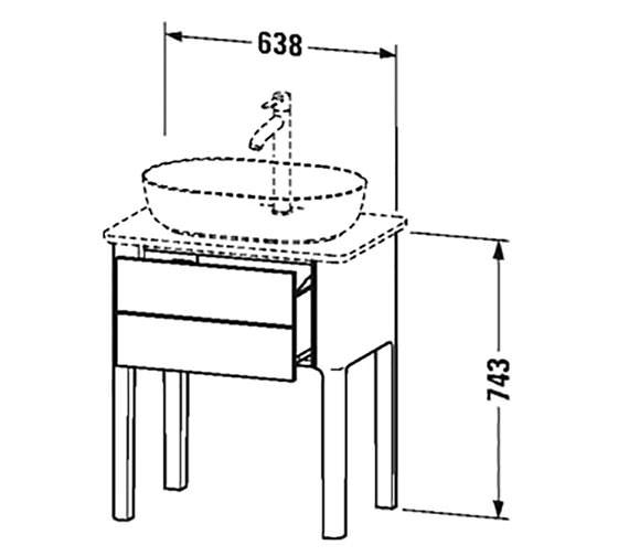 Technical drawing QS-V33273 / LU956003636