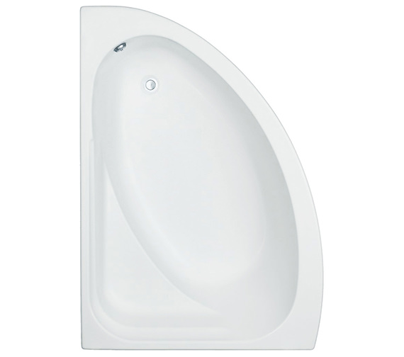 Trojan Orlando White Left Handed 1500x1020mm Offset Corner Bath With Panel