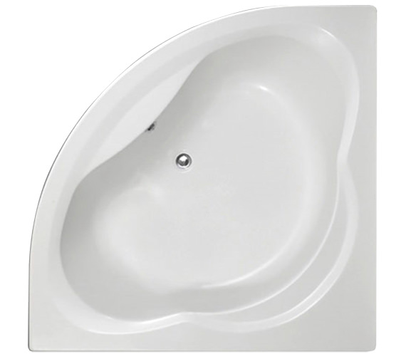 Trojan Laguna 1350 x 1350mm Corner Bath Tub With Panel