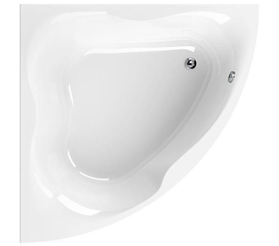Aquaestil Gloria White 1400 x 1400mm Corner Bath - 154GLORIA14