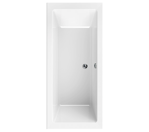 Aquaestil Plane 1600 x 700mm Double Ended Bath - 154PLANE1670