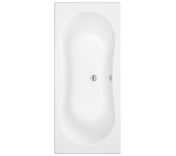 Trojan Gemini White Double Ended Bath 1800 x 800mm - NTH