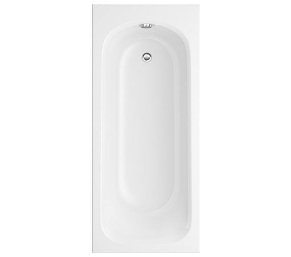 Trojan Derwent Single Ended Bath 1500 x 700mm White NTH