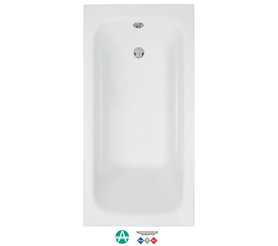 Phoenix Crystal Amanzonite Single Ended 1700 x 800mm Bath