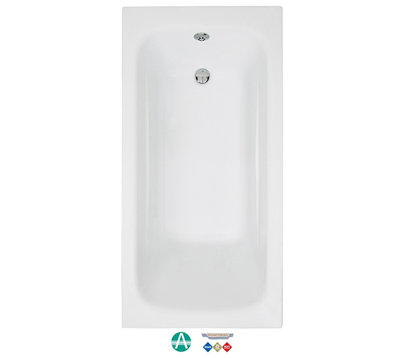 Phoenix Crystal Amanzonite Single Ended 1800 x 800mm Bath