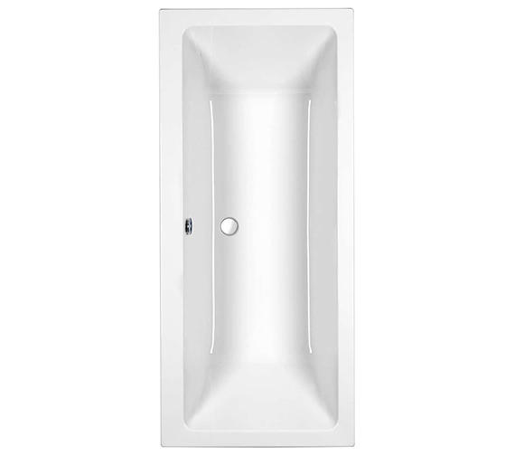 Roca The Gap Double Ended Acrylic Bath 1700 x 700mm