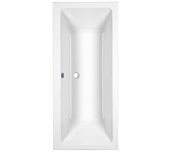 Roca The Gap Double Ended Acrylic Bath 1700 x 750mm - 024719000