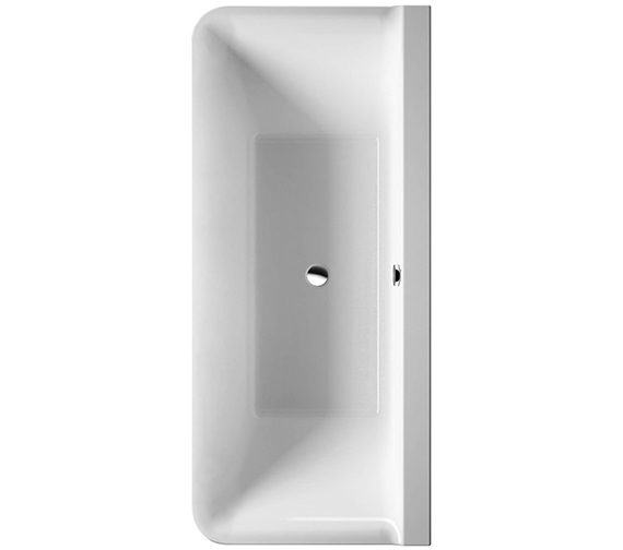 Duravit P3 Comforts 1800x800mm Back To Wall Bath With Panel - 700381