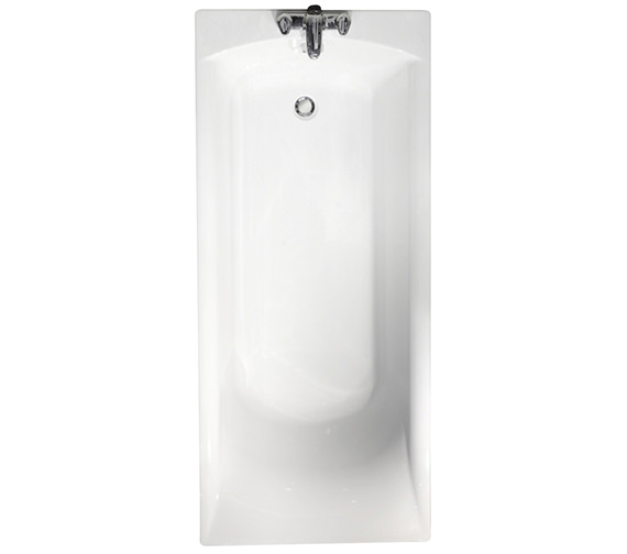 Roca Giralda Plain Acrylic Bath 1700 x 750mm With Grips - 123502000