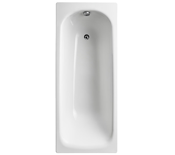 Armitage Shanks Sandringham 21 White 1700 x 700mm Bath Without Tap Hole