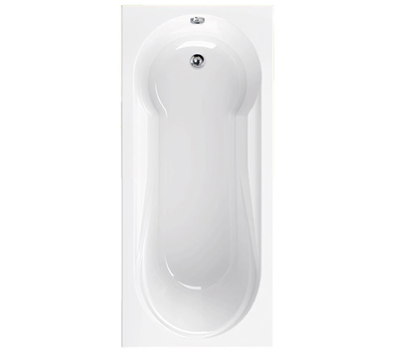 Aquaestil Modena 1800 x 800mm Single Ended Bath - 154MODENA1800