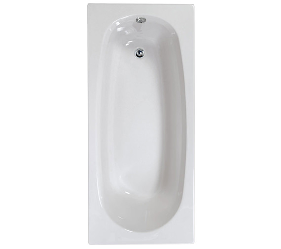 Aquaestil Mercury 1600 x 700mm Single Ended Bath - 154MERCURY1670