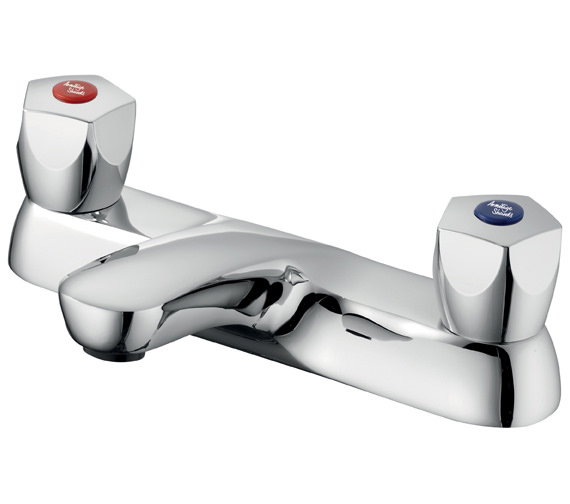 Armitage Shanks Sandringham 21 5 Facet Handles Bath Filler 2 Hole Tap