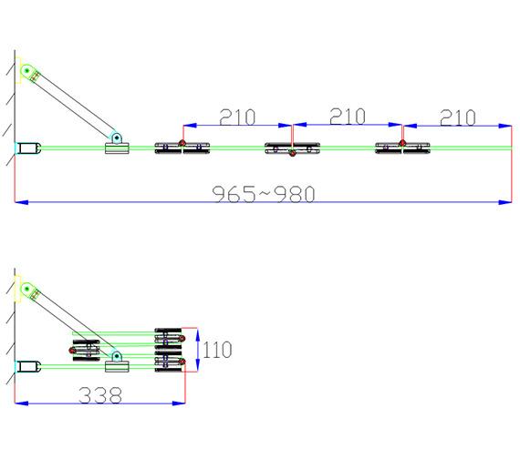 Technical drawing QS-V84195 / AP9501LS