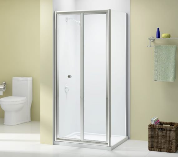 Merlyn Ionic Source 4mm Glass Bi-Fold Door 760 x 1850mm
