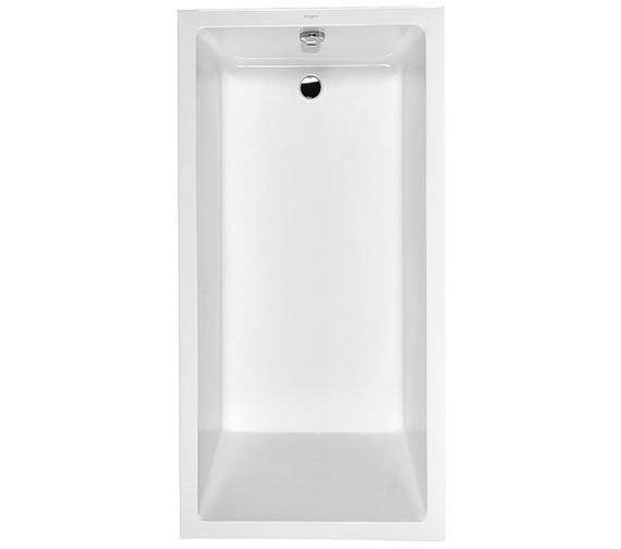 Duravit Starck 1800 x 900mm Bath With Frame And 1 Backrest Slope - 700055