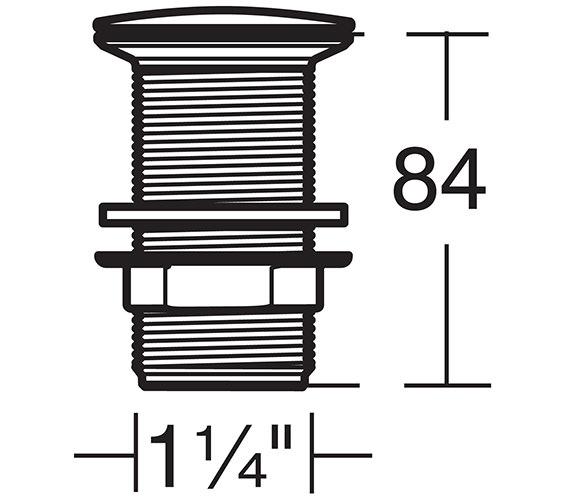 Technical drawing QS-V26742 / S8808AA