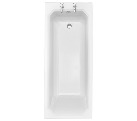 Heritage Granley Deco 1700 x 700mm Acrylic Single Ended Fitted Bath