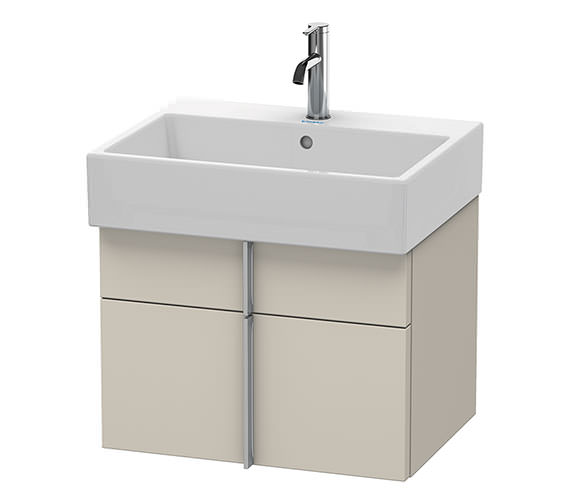 Duravit Vero Air 584 x 431mm 1 Drawer And 1 Pull-Out Compartment Unit