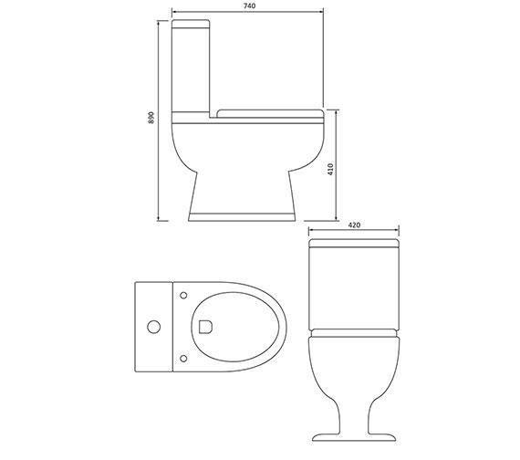 Technical drawing QS-V29987 / BA040
