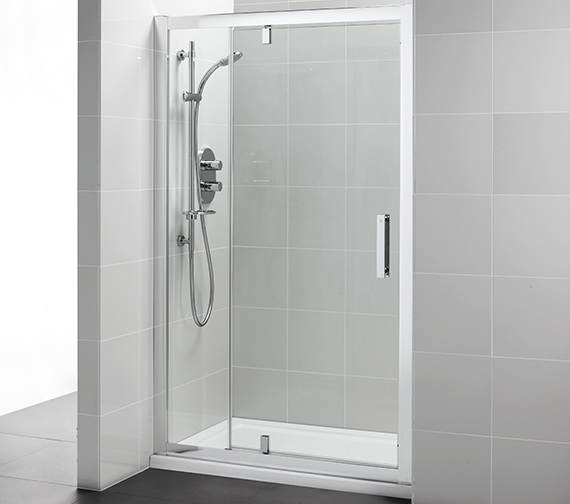 Ideal Standard Synergy 1200mm Pivot Shower Door With In-Line Panel