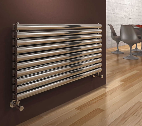 Reina Artena Double Stainless Steel Radiator 1200 x 590mm