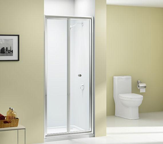 Merlyn Ionic Source 4mm Glass Bi-Fold Door 700 x 1850mm