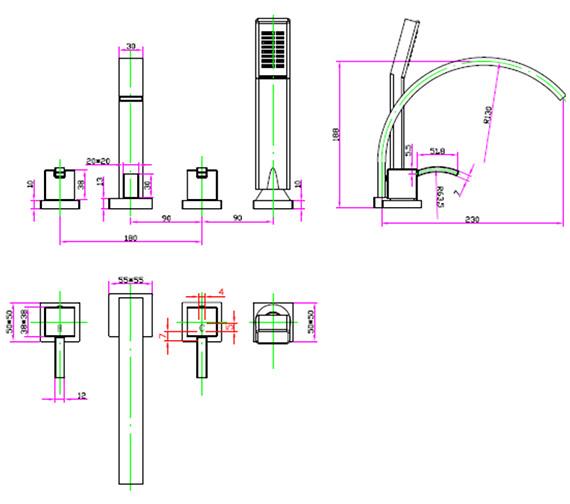 Technical drawing QS-V30430 / AR/114/C