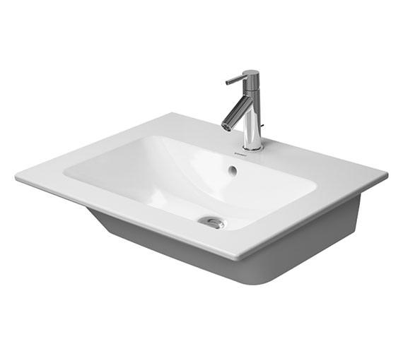 Duravit Me By Starck 630mm 1 Taphole Furniture Washbasin