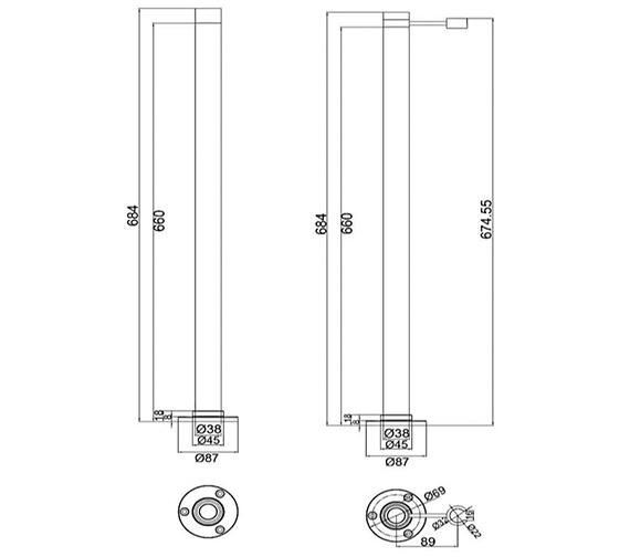Technical drawing QS-V30627 / WA/484/C