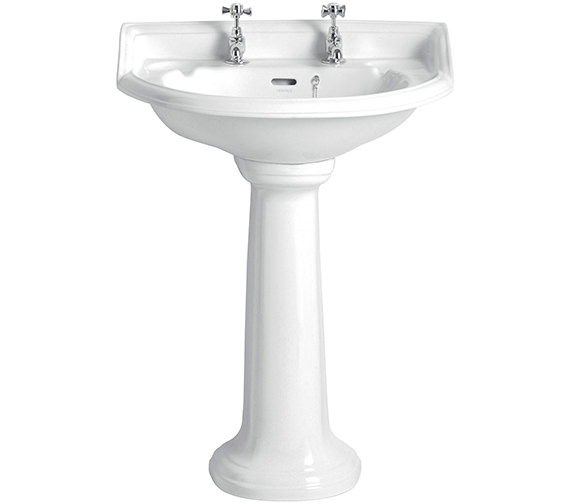 Heritage Dorchester 635 x 480mm Standard Basin With 1 Tap Hole