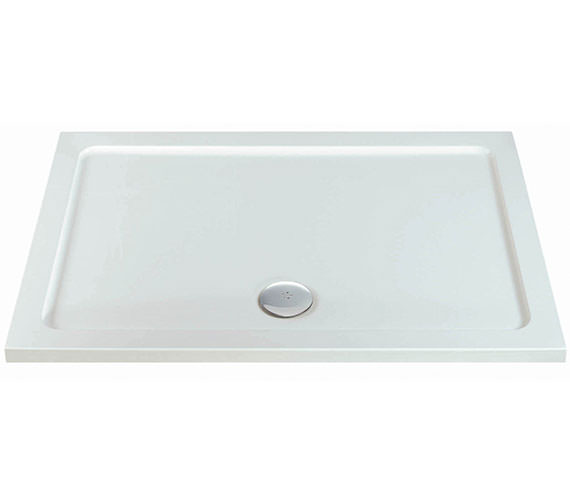 Phoenix Rectangular Shower Tray With Centre Waste