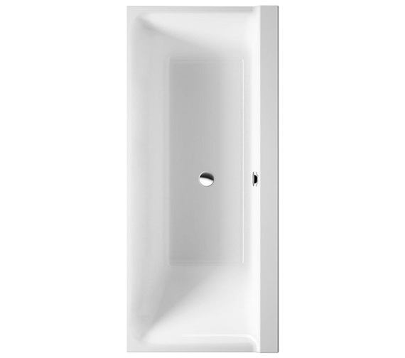 Duravit P3 Comforts 1700x700mm Bath Right Slope With Frame - 700385