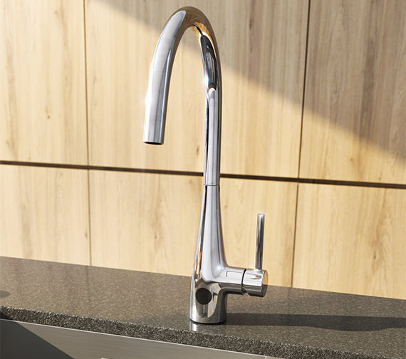 Crosswater Cucina Cook Side Lever Sensor Kitchen Sink Mixer Tap