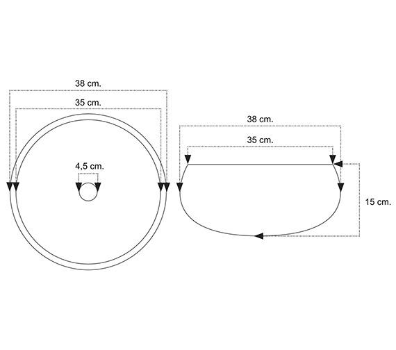 Technical drawing QS-V81602 / BEO-1926
