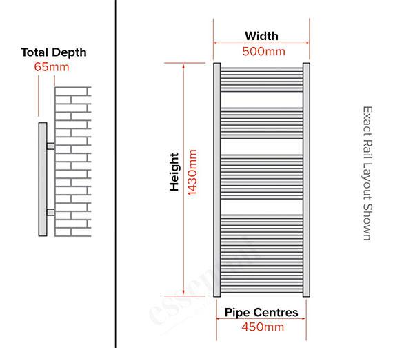 Technical drawing QS-V56456 / 148206