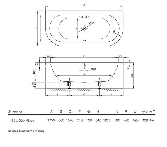 Technical drawing QS-V52717 / 8310 000