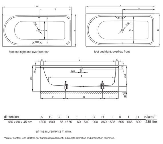 Technical drawing QS-V52698 / 8857 000