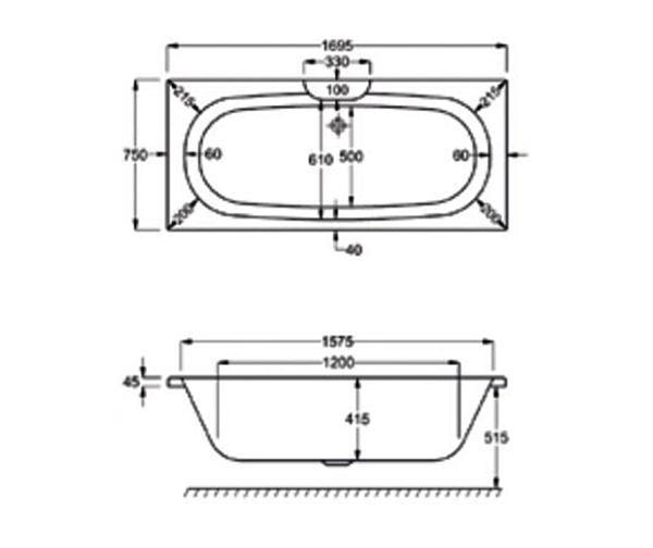 Technical drawing QS-V19267 / 023200000