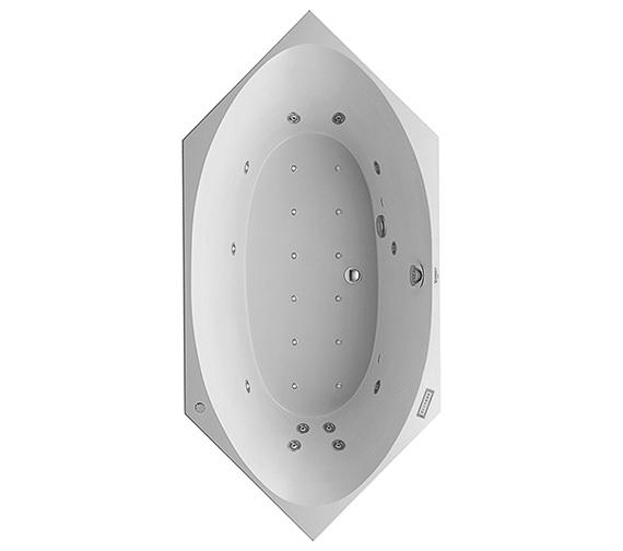 Duravit 2x3 Hexagonal 2000 x 1000mm Built In Bath - Combi System E