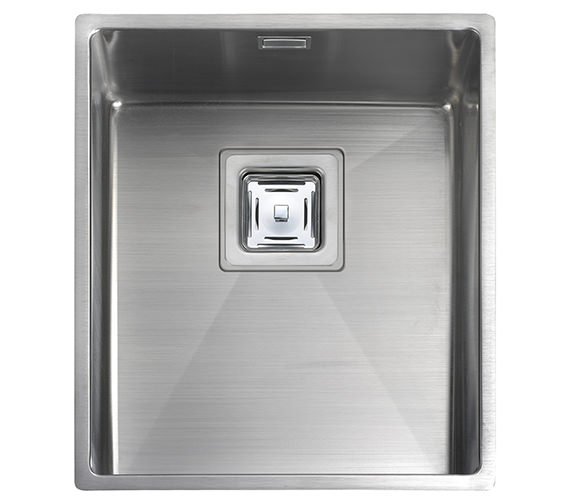 Rangemaster Atlantic Kube 370 x 430mm Stainless Steel 1.0B Undermount Sink