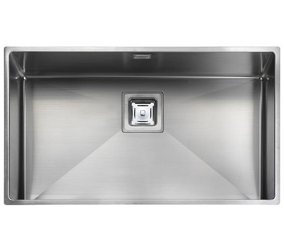 Rangemaster Atlantic Kube 730 x 430mm Stainless Steel 1.0B Undermount Sink